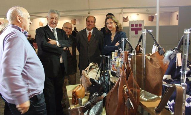 El presidente del Coacb, Enric Enrech inaugura Expopell