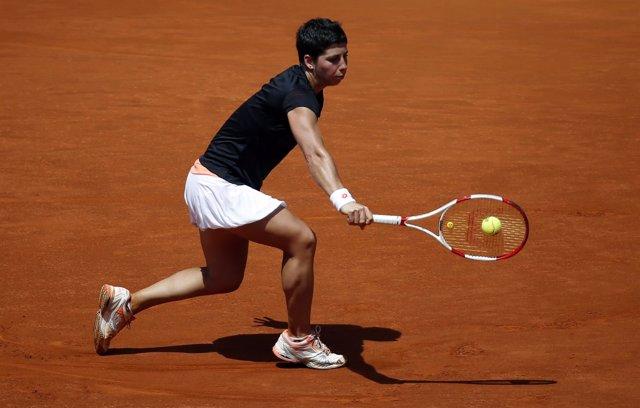 Carla Suárez en el Masters de Madrid