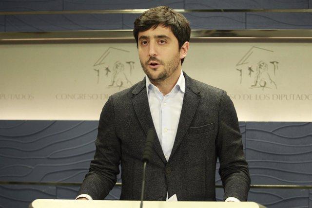 Toni Roldán, de Ciudadanos, en el Congreso