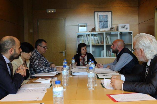 Reunión del Patronato de la Fundación Oso Asturias.