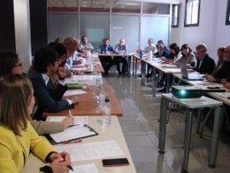 Mesa sectorial de la fruta dulce en Lleida