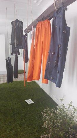 Colección de Moisés Nietos con tejidos reciclados