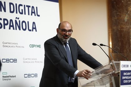 Abril-Martorell (Indra) afirma que la transformación digital es clave para la supervivencia de las empresas