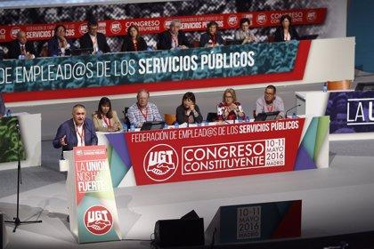 UGT constituye la federación de empleados públicos, la mayor del sindicato
