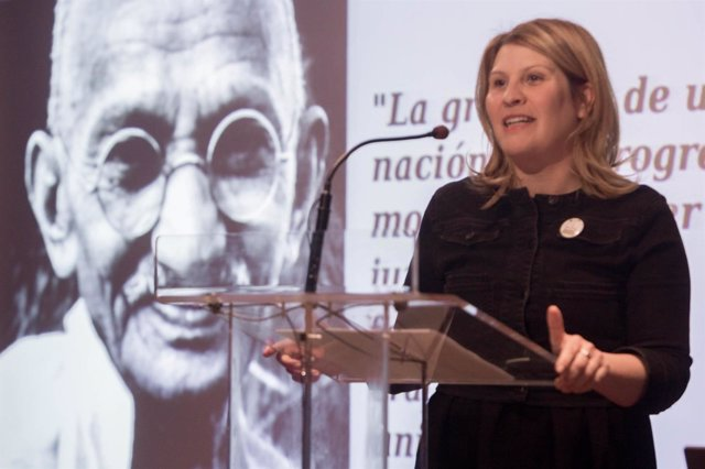 La portavoz de PACMA, Silvia Barquero