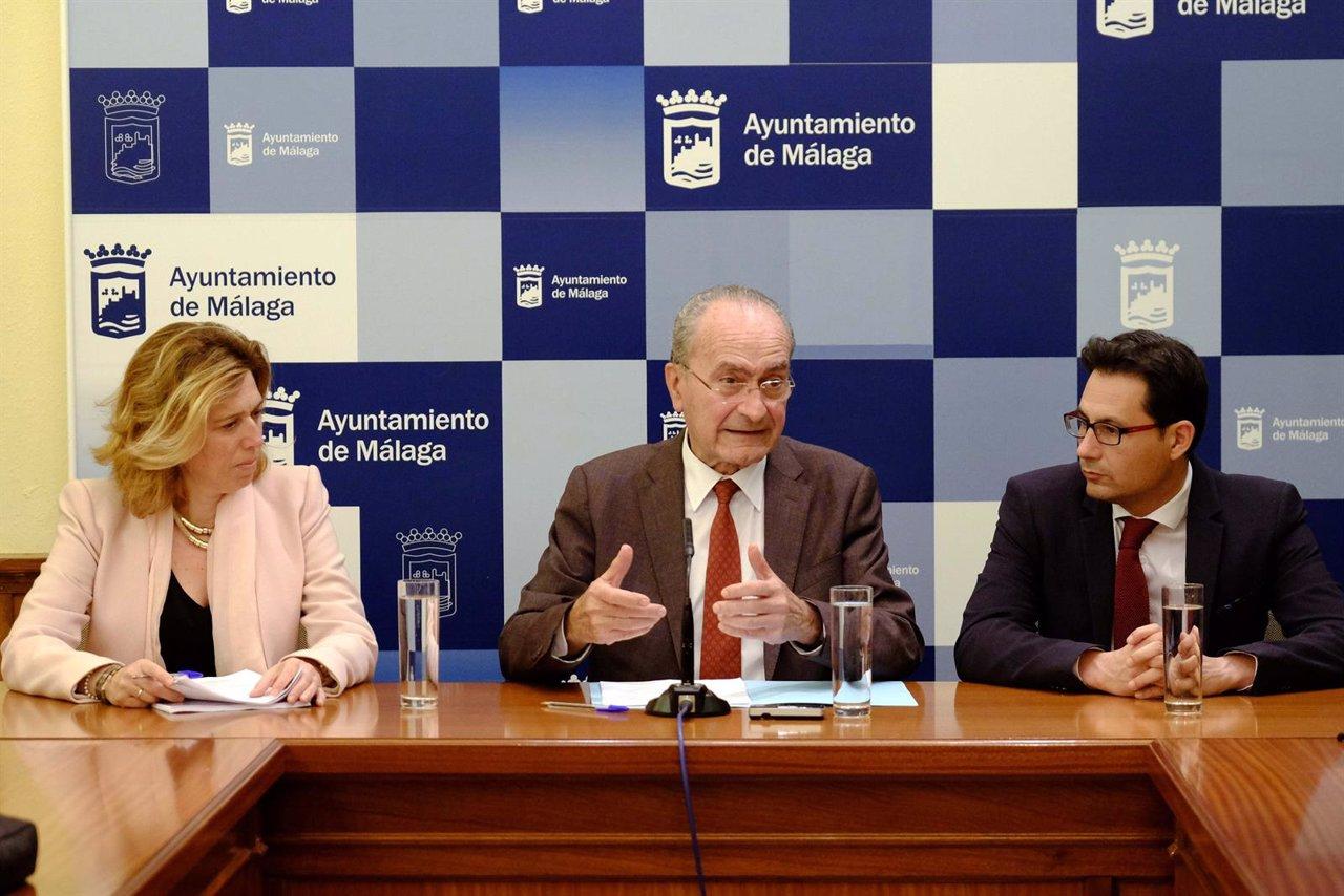 Elvira Maeso, De la Torre y Francisco Pomares