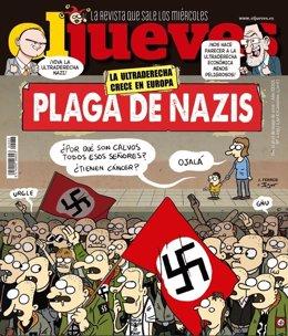 Portada de 'El Jueves' contra los neonazis