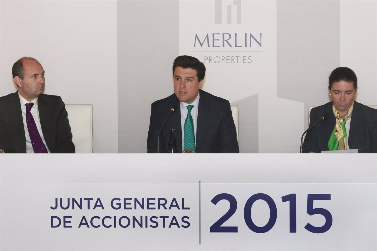 Junta General de Accionistas 2015 MERLIN PROPERTIES