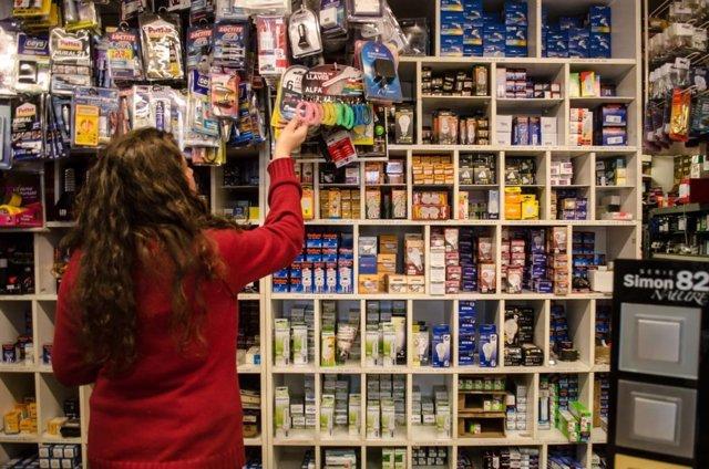 Tiendas electricidad, material eléctrico, iluminación, consumo