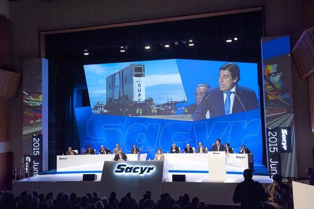 Junta de accionistas de Sacyr