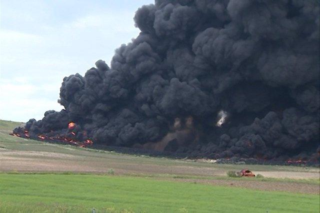 El incendio de Seseña podría haber sido intencionado