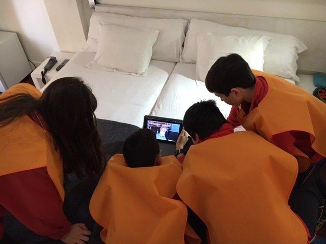 Niños participantes en 'Pequeños amos de casa'