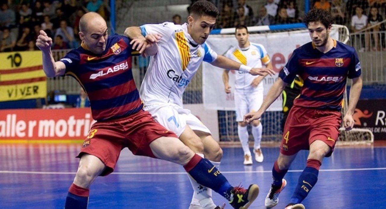 Amarga victoria de Movistar Inter y el Barcelona Lassa se lleva el derbi