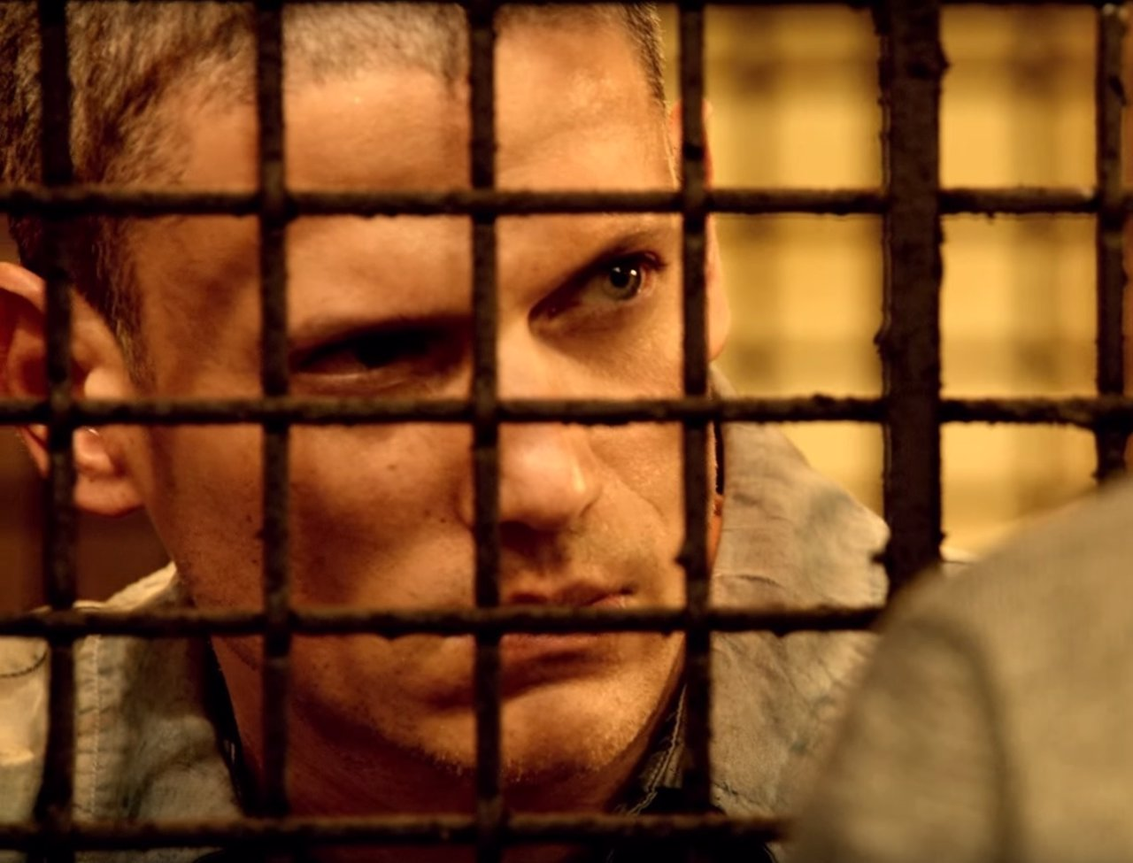 Wentworth Miller es Michael Scofield en Prison Break