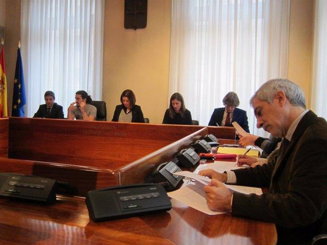 Miembros de la comisión de investigación sobre las listas de espera sanitaria