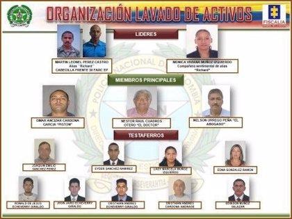 Desarticulan una organización que lavaba dinero de las FARC