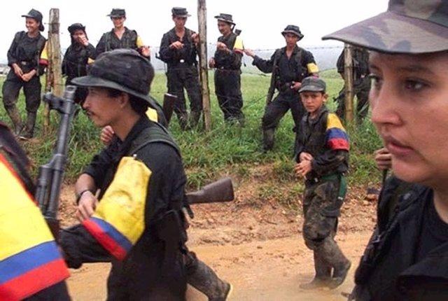 Niños soldado en las FARC