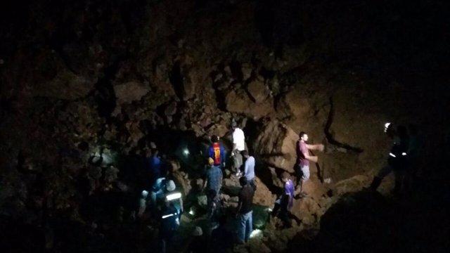 Hallan muerto a uno de los tres mineros atrapados en la mina de Cuculmeca