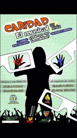 Cartel de 'Caridad, el musical'