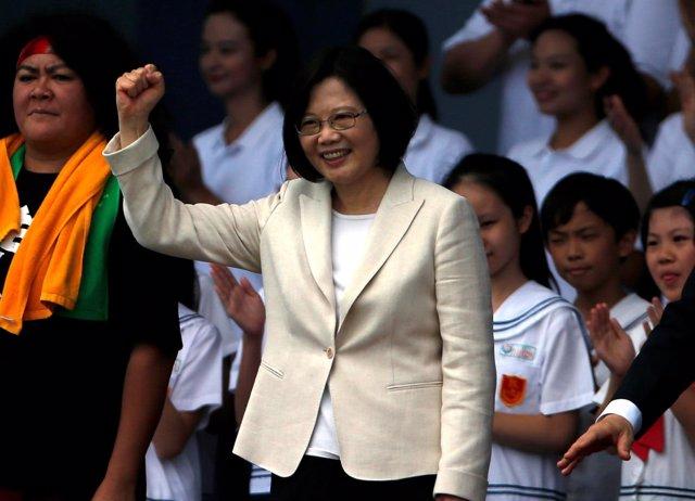 Tsai Ing Wen, presidenta de Taiwán