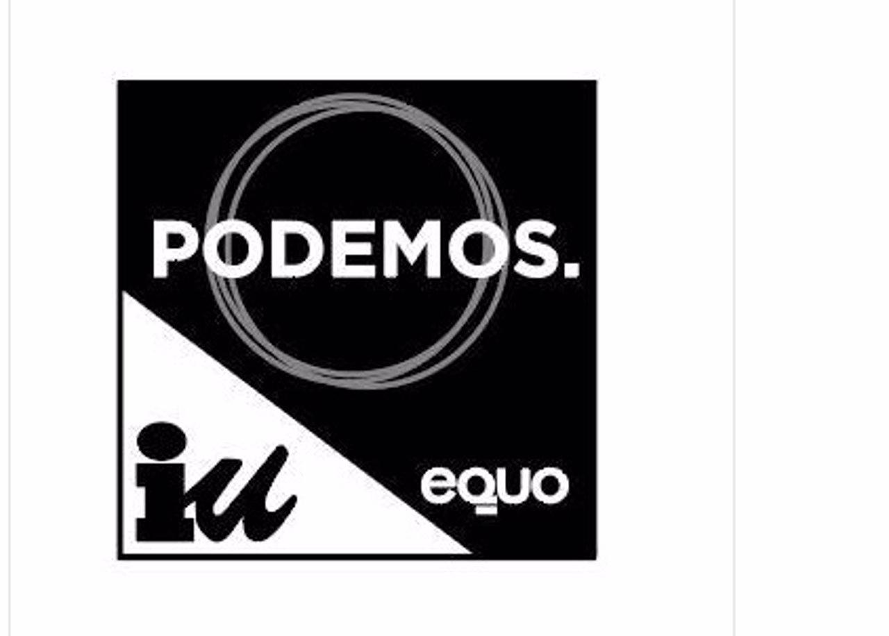 Logo de la coalición Unidos Podemos