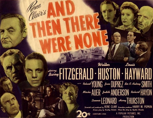 Cartel de 'And Then There Were None'