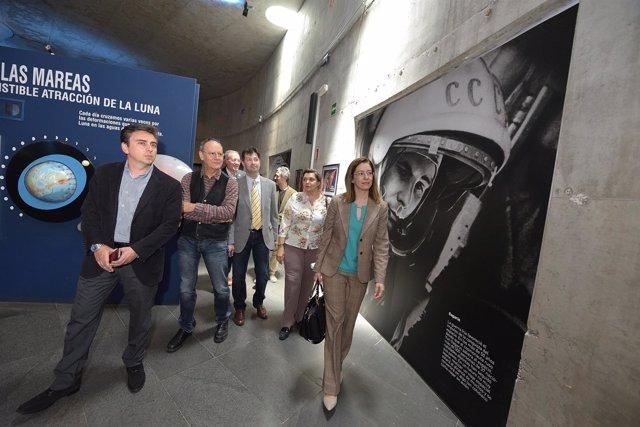 NOTA DE PRENSA Y FOTOGRAFÍA: MUSEOS COSMONAUTAS