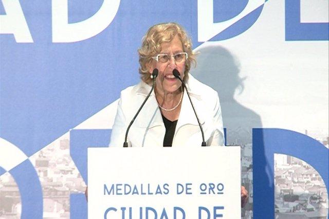 """Manuela Carmena: """"Se puede modificar el mundo"""""""