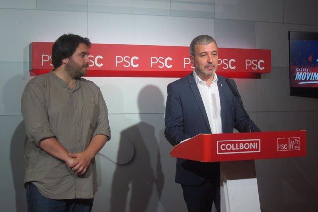 Ferran Pedret, Jaume Collboni (PSC)
