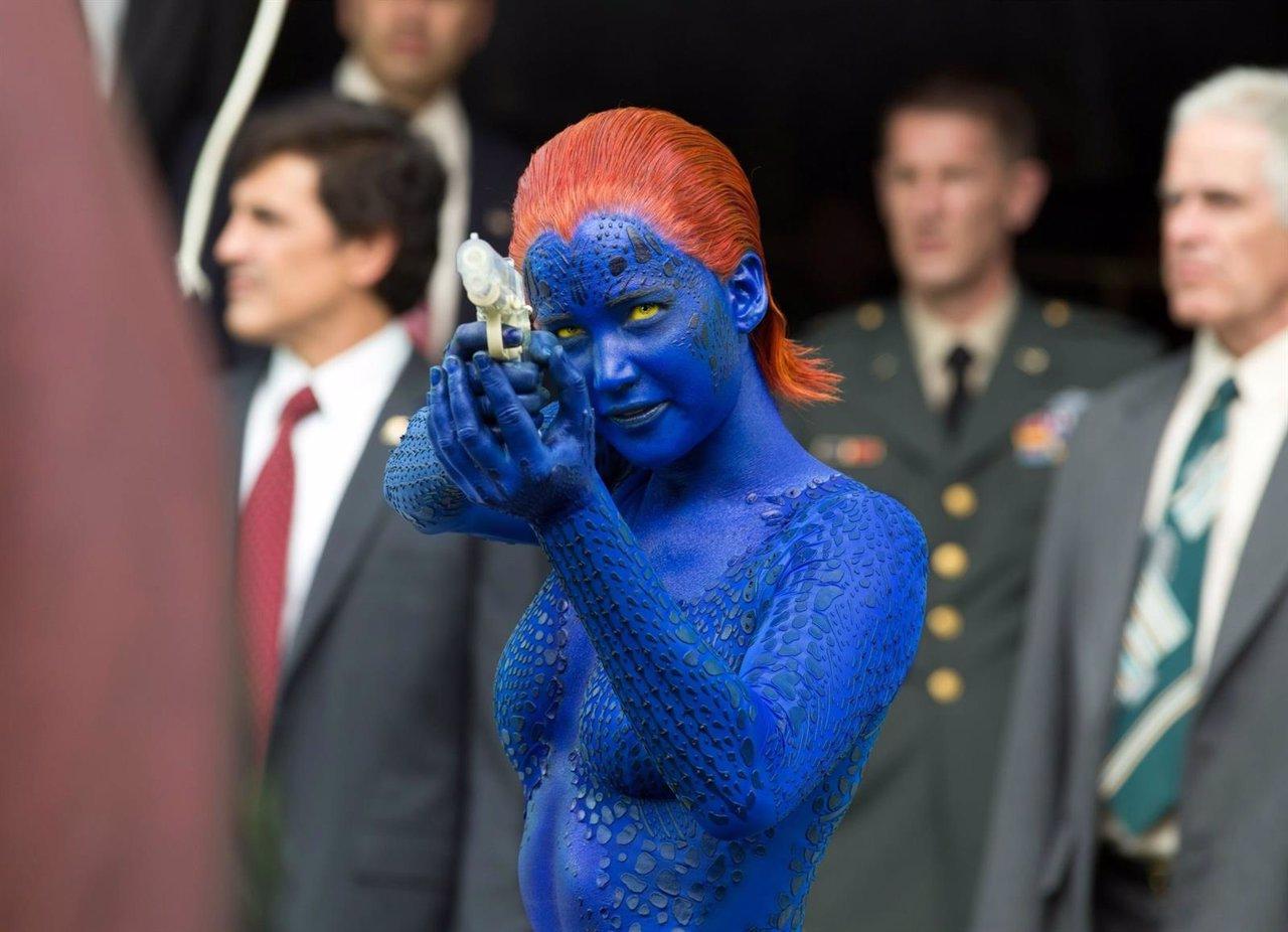 Jennifer Lawrence en X-Men