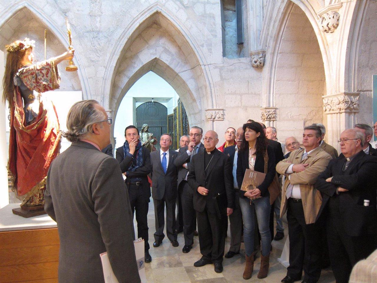 Exposición sobre el Corpus en la Catedral de Valladolid
