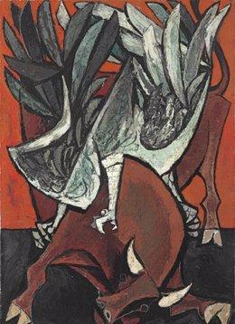 Toro y Condor de Oswaldo Guayasamín
