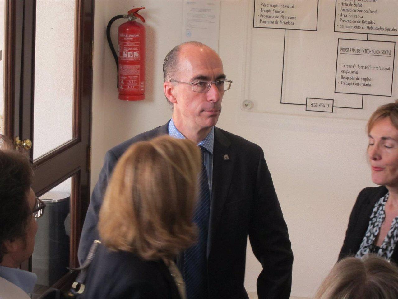 Jesús Vázquez Almuíña,  en Vigo