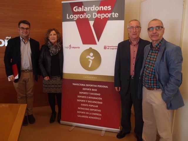 Participantes en el presentación