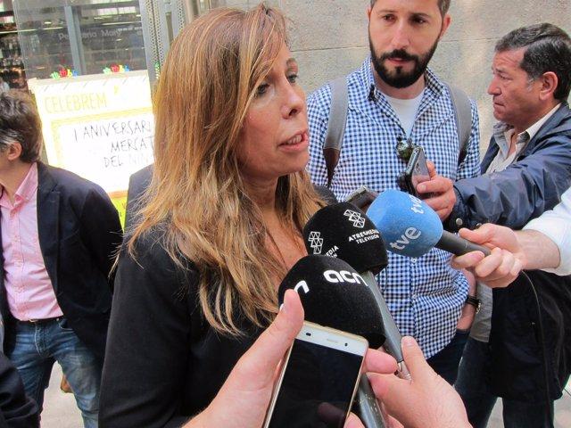 La líder del PP catalán, Alícia Sánchez Camacho