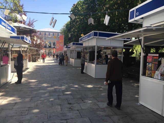 Inauguración de la Feria del Libro de Burgos
