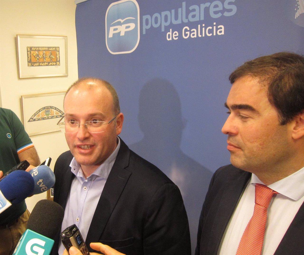 Miguel Tellado (PP) en declaraciones