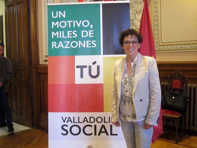 Rafaela Romero, concejal de Servicios Sociales.
