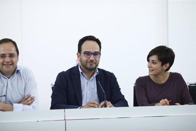 El Comité Electoral del PSOE se reúne en Ferraz