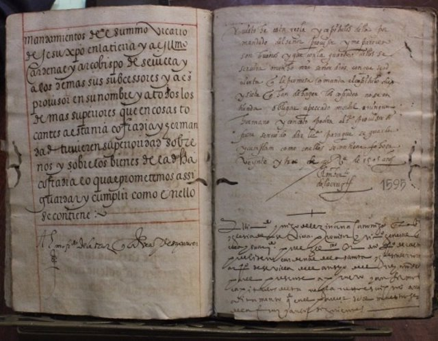 El IAPH Restaurará Dos Libros De Reglas De La Hermandad De La Macarena