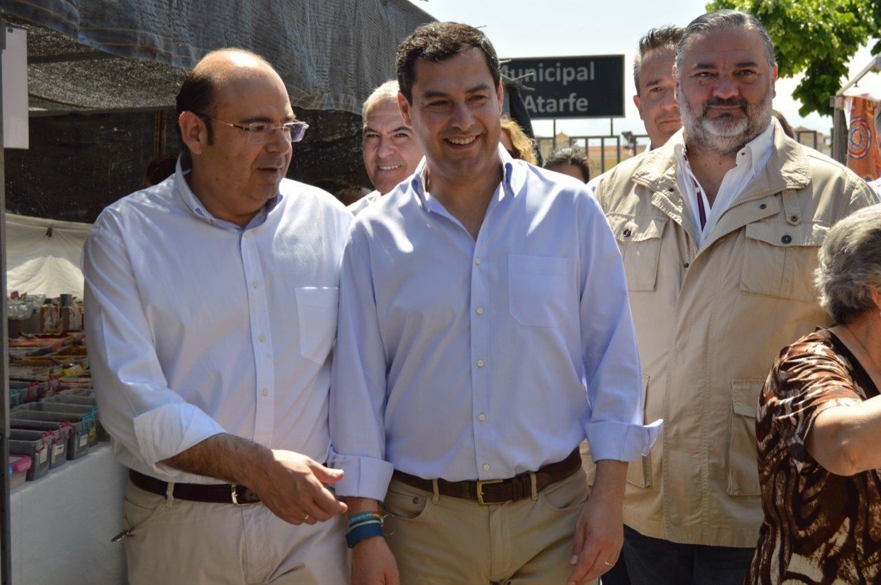 Nota, Audio Y Foto PP Andaluz. Juanma Moreno