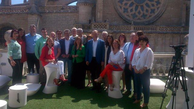 Foto de grupo del PSOE.