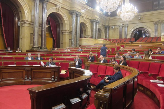 Sesión del Parlament