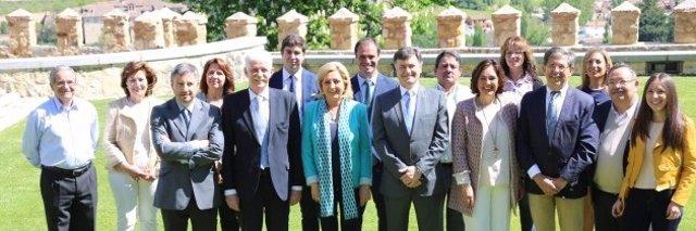 Los candidatos del PP por Segovia