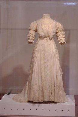 Vestido malagueñas de la Belle Époque