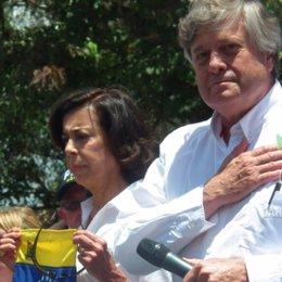 El padre del opositor venezolano Leopoldo López