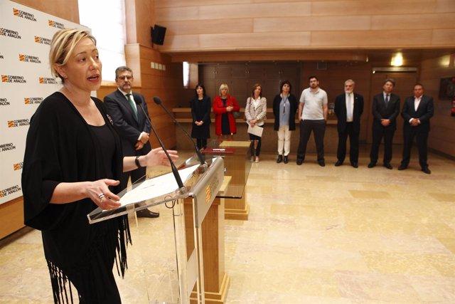 La consejera de Economía, Industria y Empleo del Gobierno, Marta Gastón.