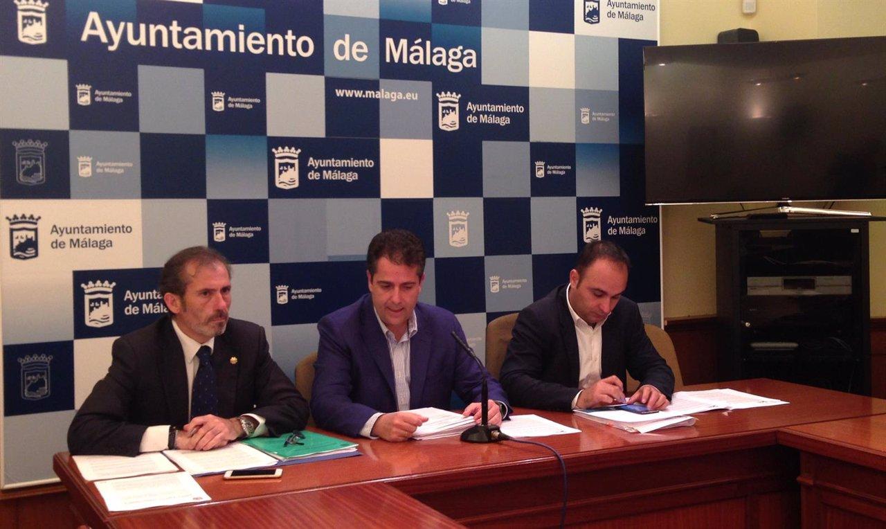 Decano del Colegio de Abogados Lara, Carlos Conde, y Mario Cortés (PP)