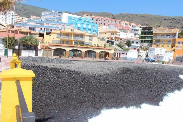 Playa en Candelaria