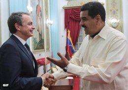 Maduro se reunió con Zapatero